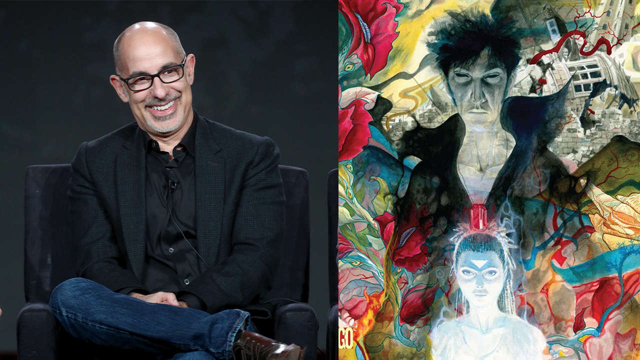 David S. Goyer on fighting for Sandman to be a 'strange and funky and weird' series at Netflix