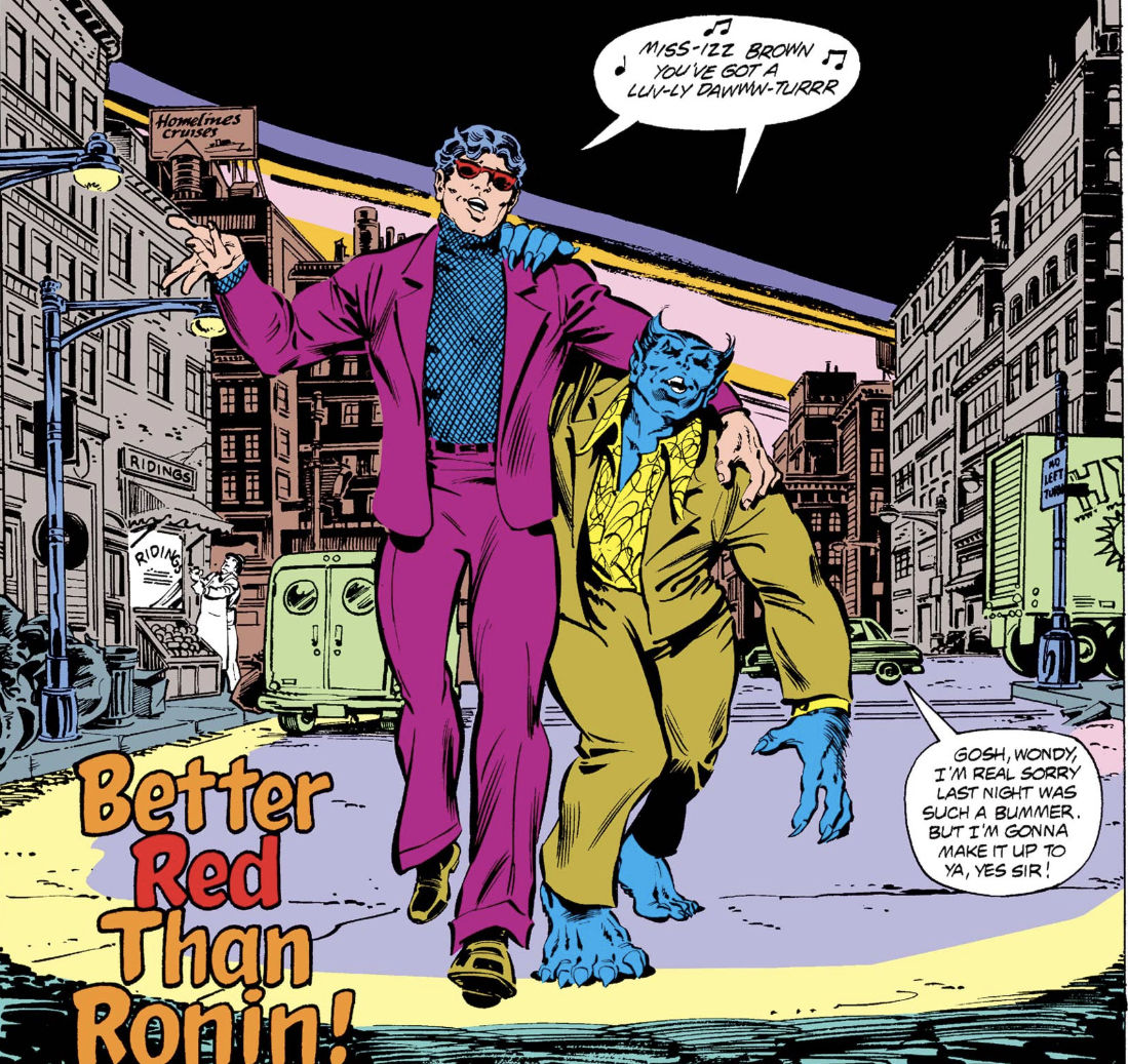 Chosen One of the Day: Off-duty Beast and Wonder Man