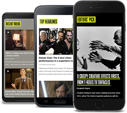 Sign-up SyfyWire page