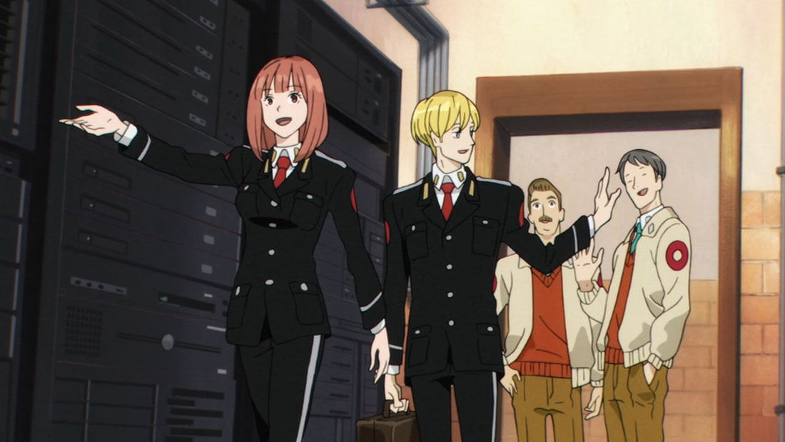 Syfy Wire is offended by the military uniforms in ACCA. Because NAHTZEES!