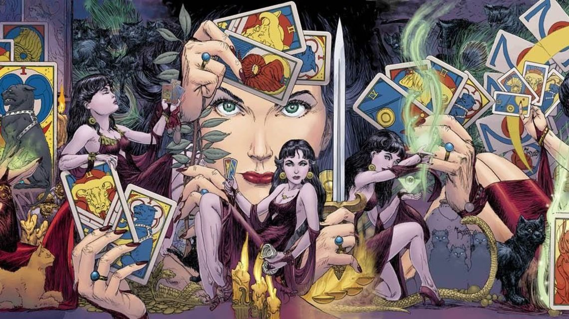 The many mystical faces of Madame Xanadu. JLD team suggestion.