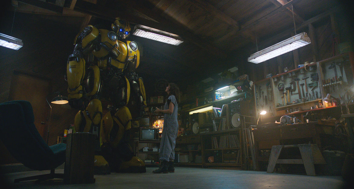 Bumblebee garage sequence