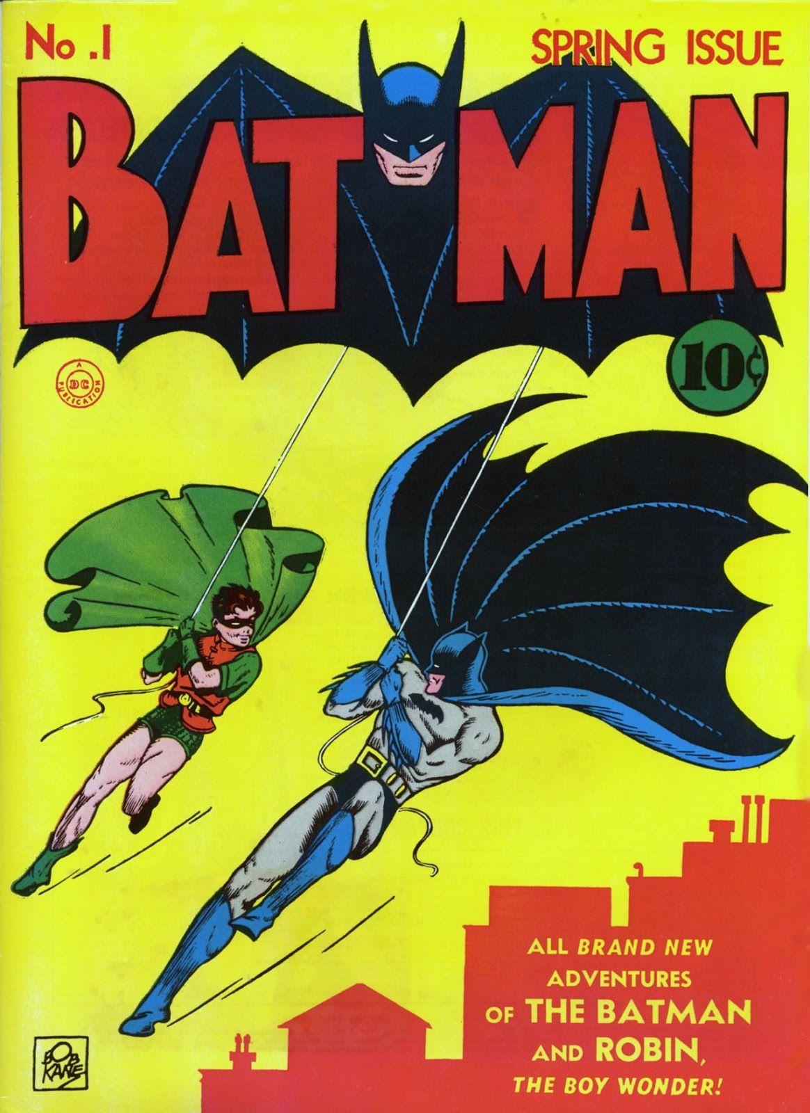 Batman #1 (Writer: Bill Finger, Paul Gustavson Artist: Bob Kane, George Papp, Paul Gustavson, Raymond Perry)