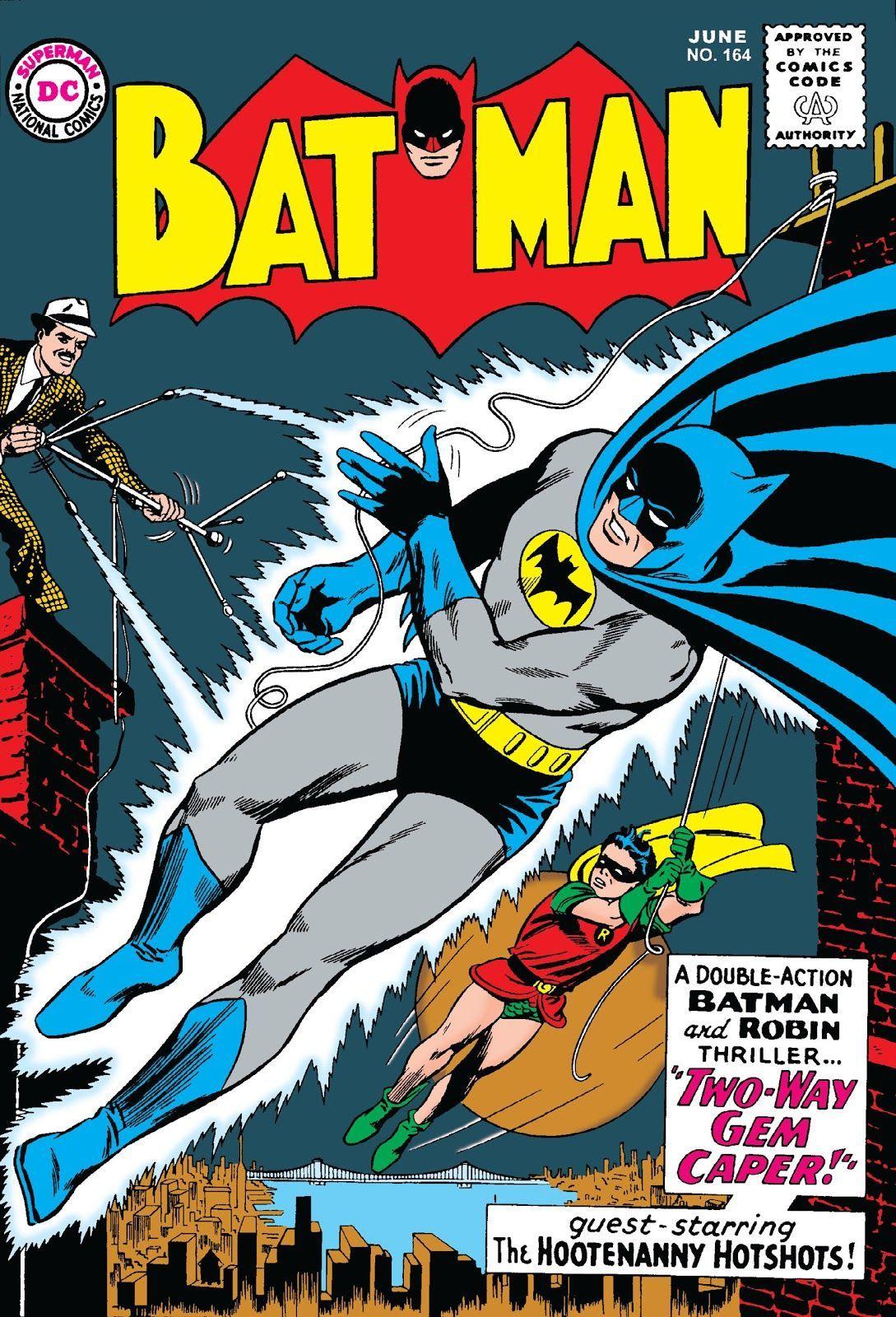 Batman #164 (Writer: Ed Herron, Artists: Sheldon Moldoff, Joe Giella)