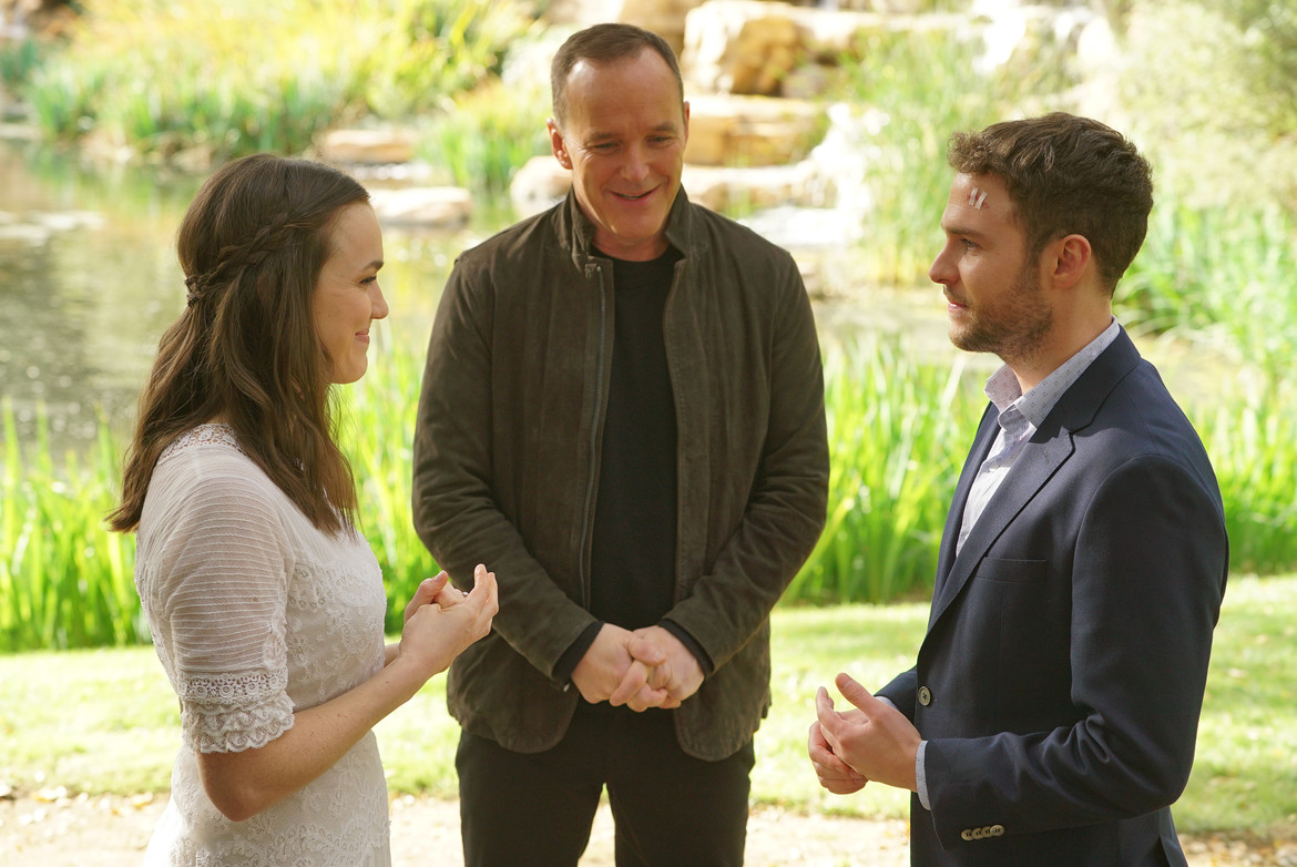 Agents of SHIELD 100 episode FitzSimmons wedding