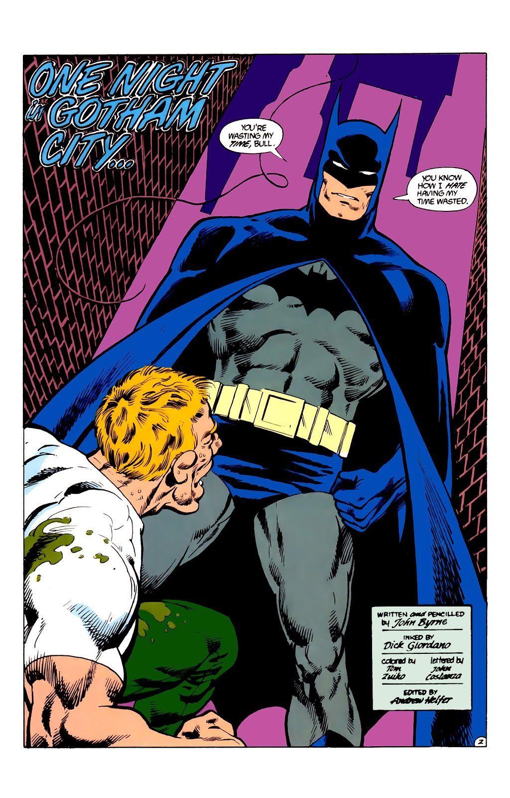 Man of Steel #3 (Writer: John Byrne, Artists: John Byrne)