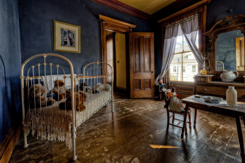 Kid's room inside the S.K. Pierce Mansion