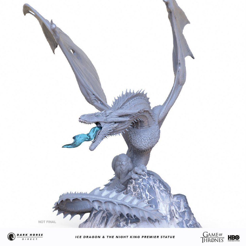 dark horse direct game of thrones ice dragon