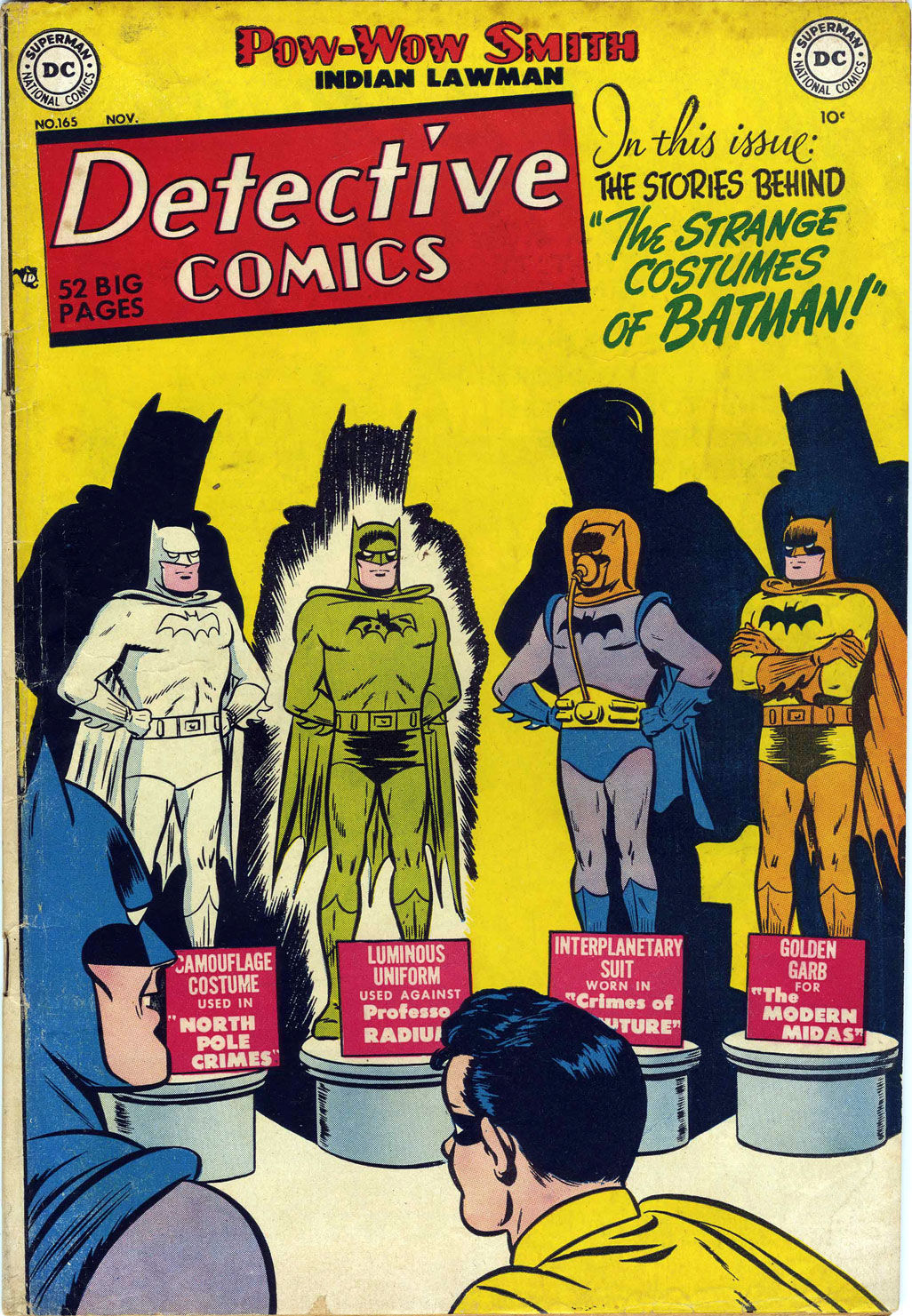 Detective Comics #165 (Writer: Edmond Hamilton, Artists: Dick Sprang, Charles Paris)