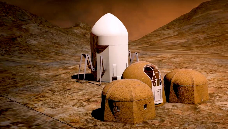 NASA Mars habitat concept