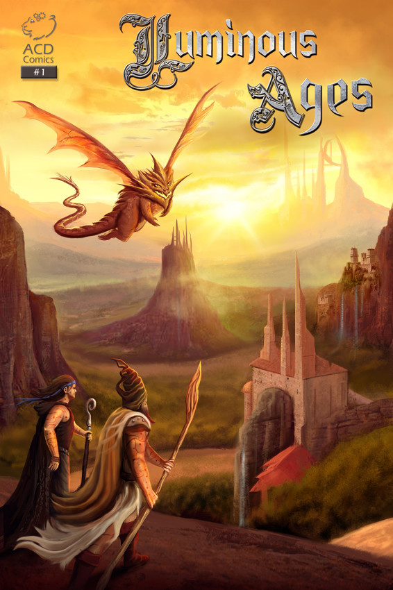 Cover of Luminous Ages #1 by Anthony Christou