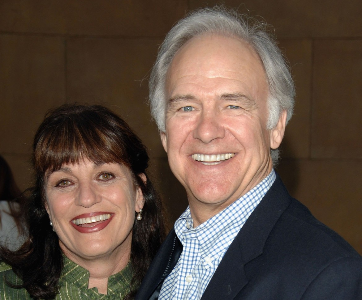 Gwynne Gilford and Robert Pine, masters of the universe