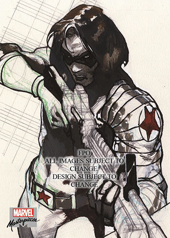 2018 upper deck marvel masterpieces winter soldier
