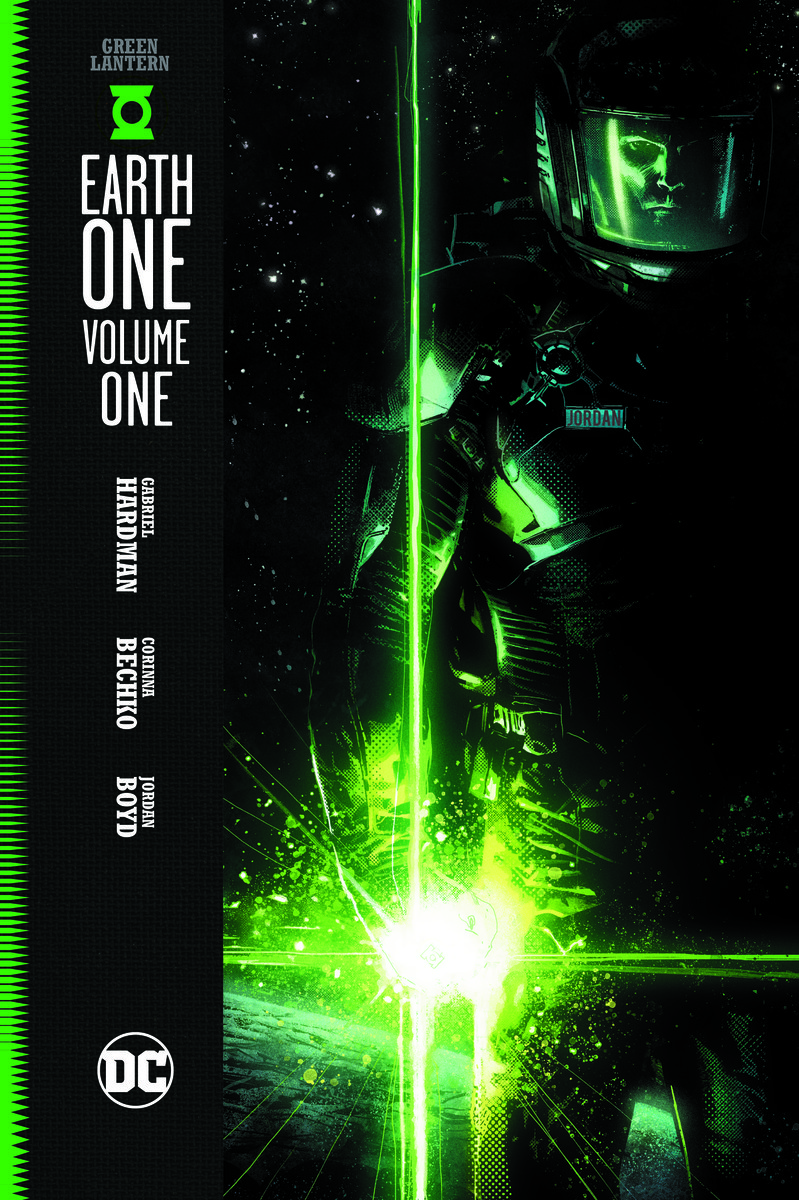 green lantern earth one cover