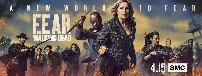Fear the Walking Dead season 4 key art
