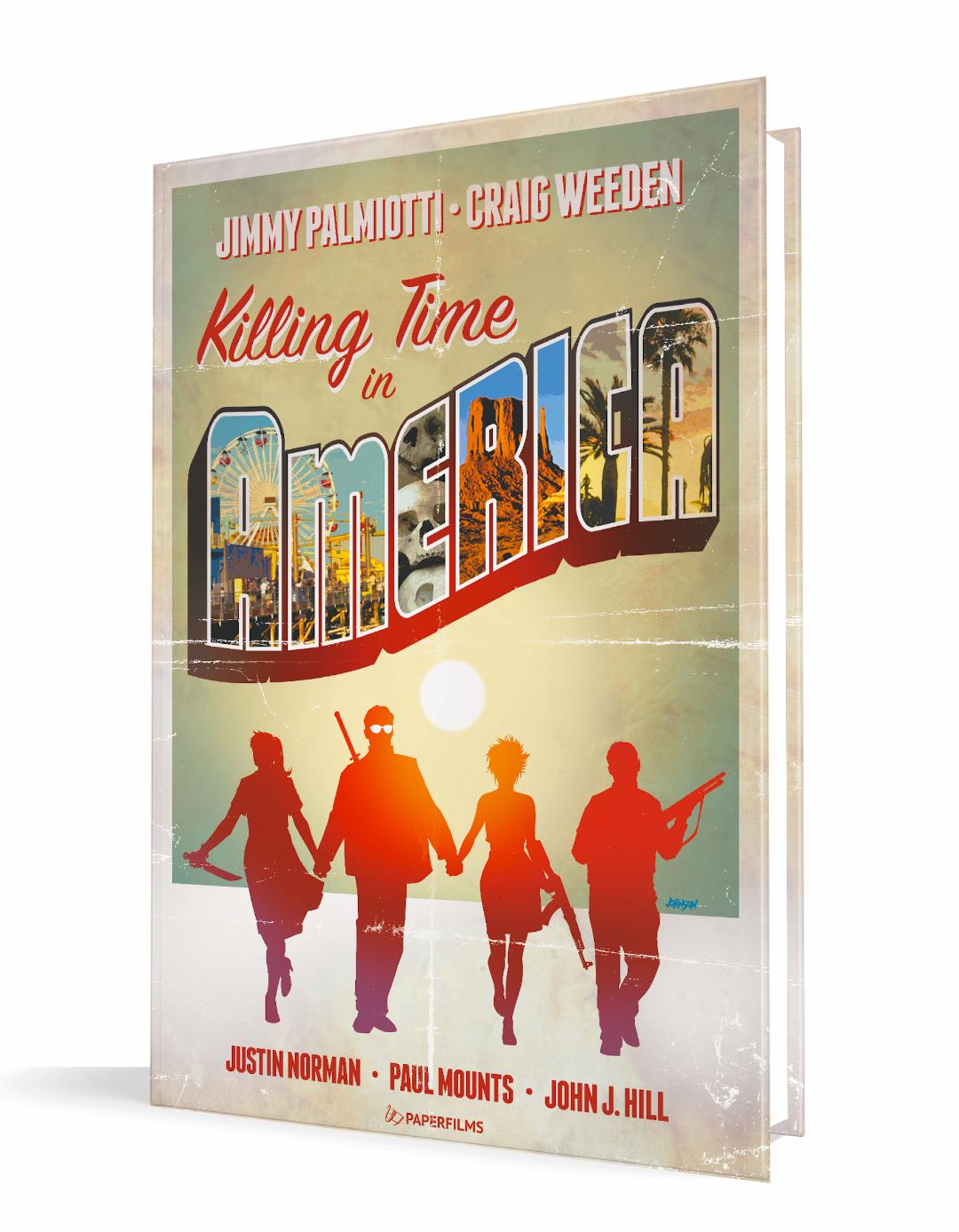 Killing Time In America cover