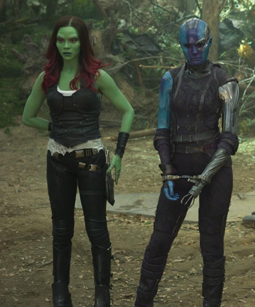 Gamora and Nebula, Marvel