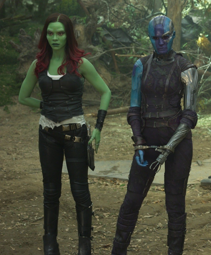Gamora and Nebula, Marvel