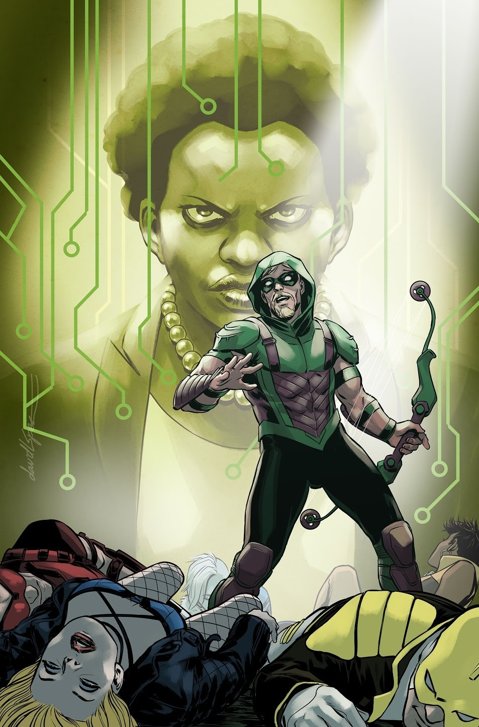 Green Arrow Annual 2 Bensons