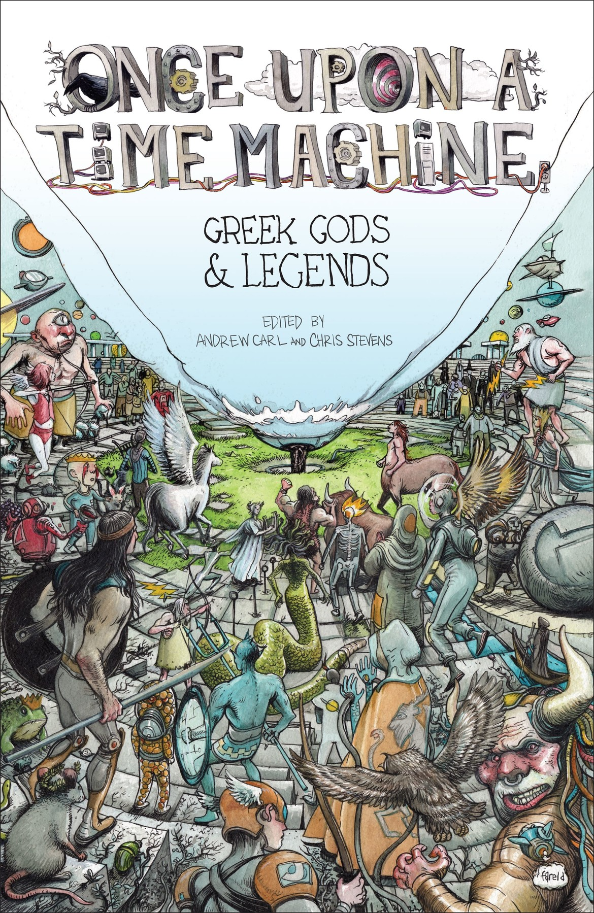 Once Upon a Time Machine Greek Gods and Legends Cover