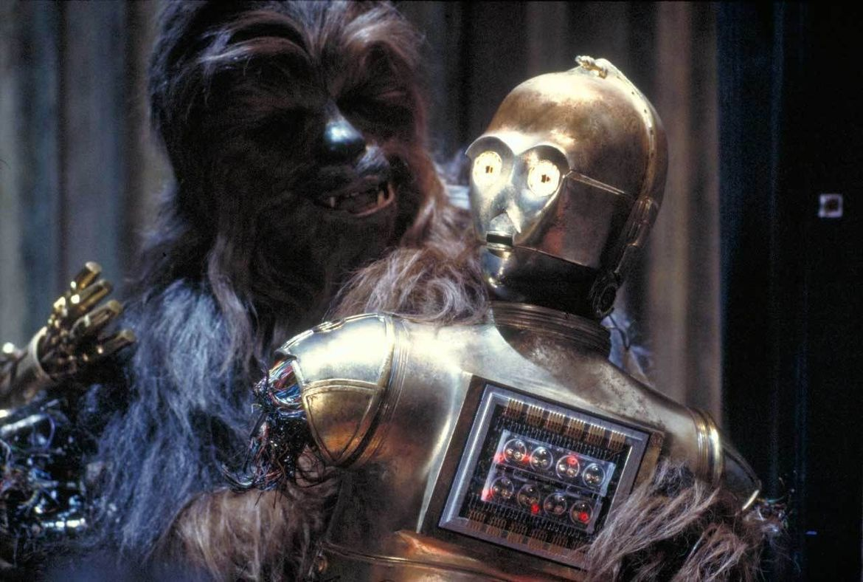 C-3PO and Chewbacca, Star Wars