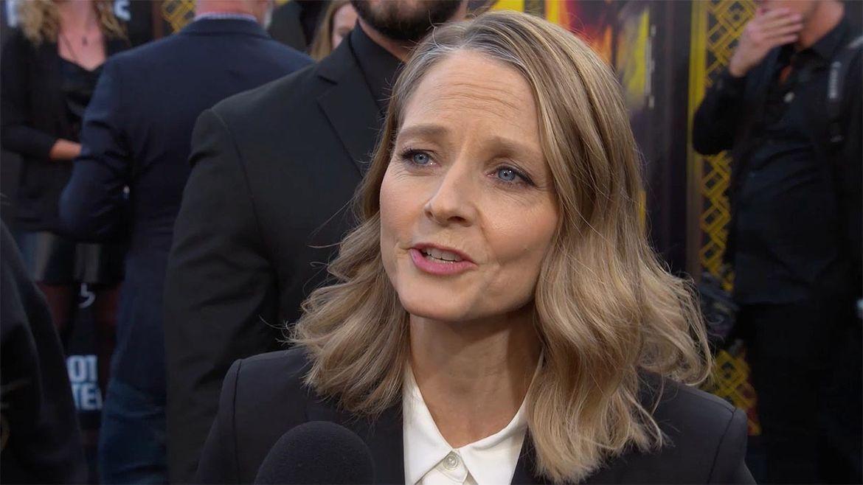 Hotel Artemis Jodie Foster red carpet hero