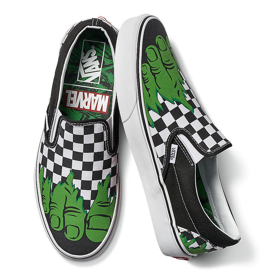 cfa1f9f9ffa68d Vans crosses over with the Marvel Universe with  Off The Wall  shoes ...