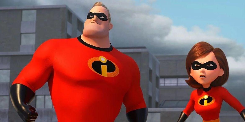 Incredibles 2 Bob and Helen