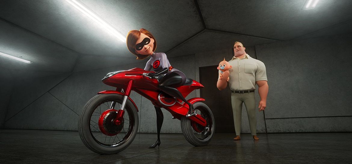 Incredibles 2, Elistagirl's Motorcycle