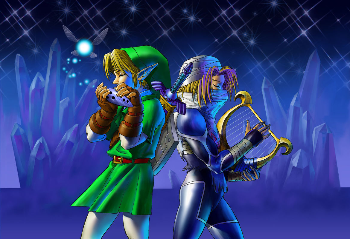 The Legend of Zelda: Ocarina of Time is about Zelda becoming