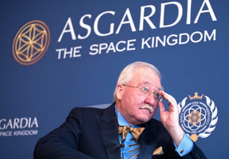 Igor Ashurbeyli space kingdom of Asgardia