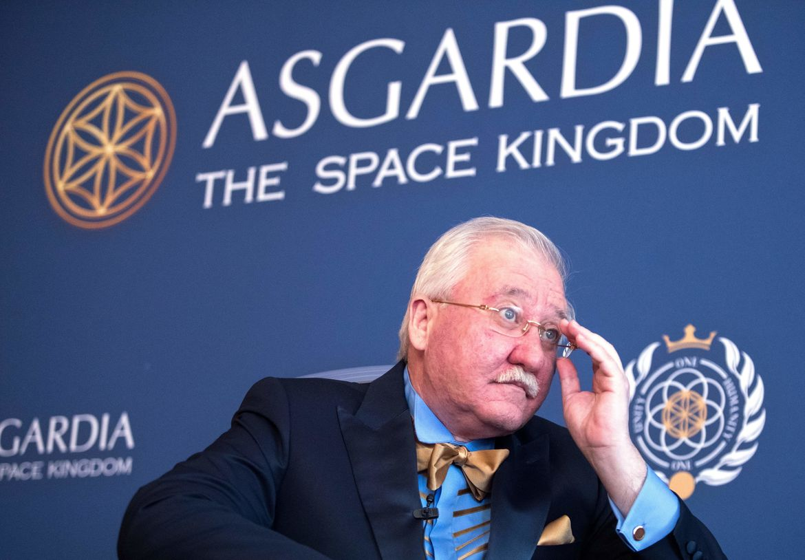 Igor Ashurbeyli space kingdom of Asgardia