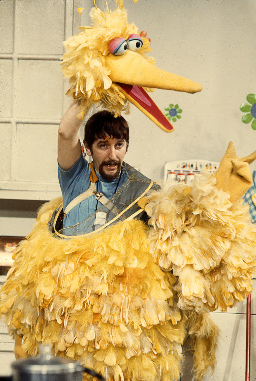 Caroll Spinney Big Bird Sesame Street