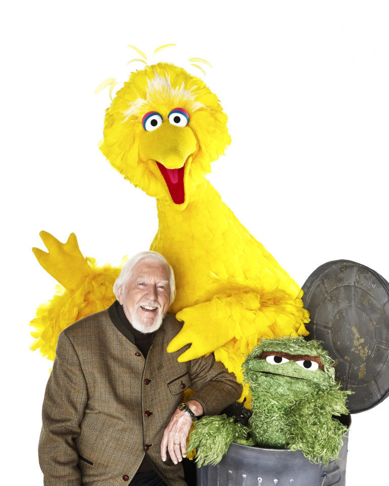 Caroll Spinney Big Bird Oscar the Grouch