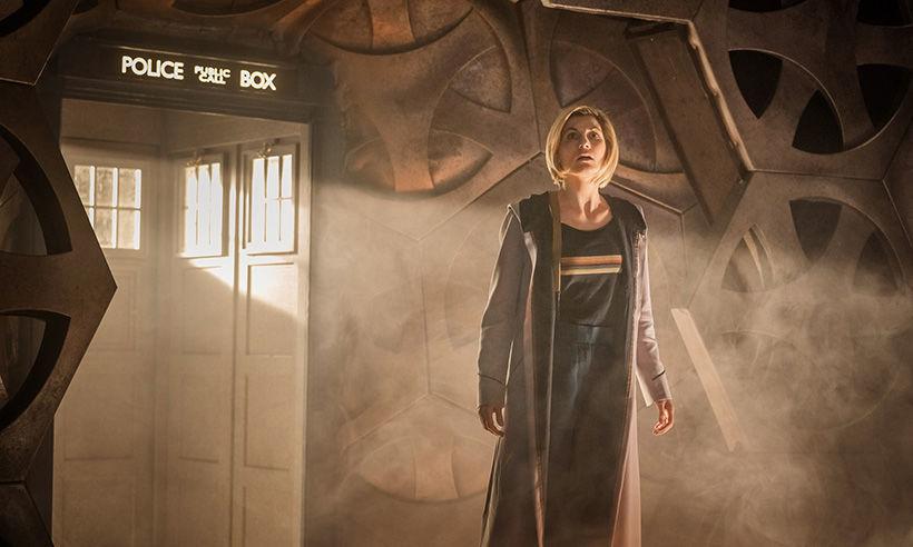 Doctor Who 13th Doctor TARDIS
