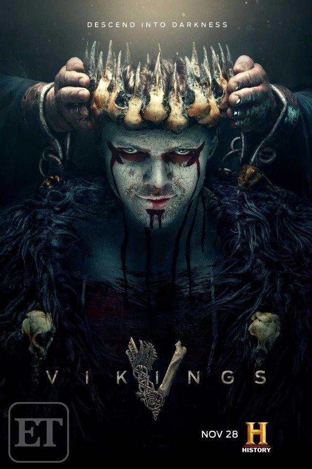 Vikings Season 5B Poster