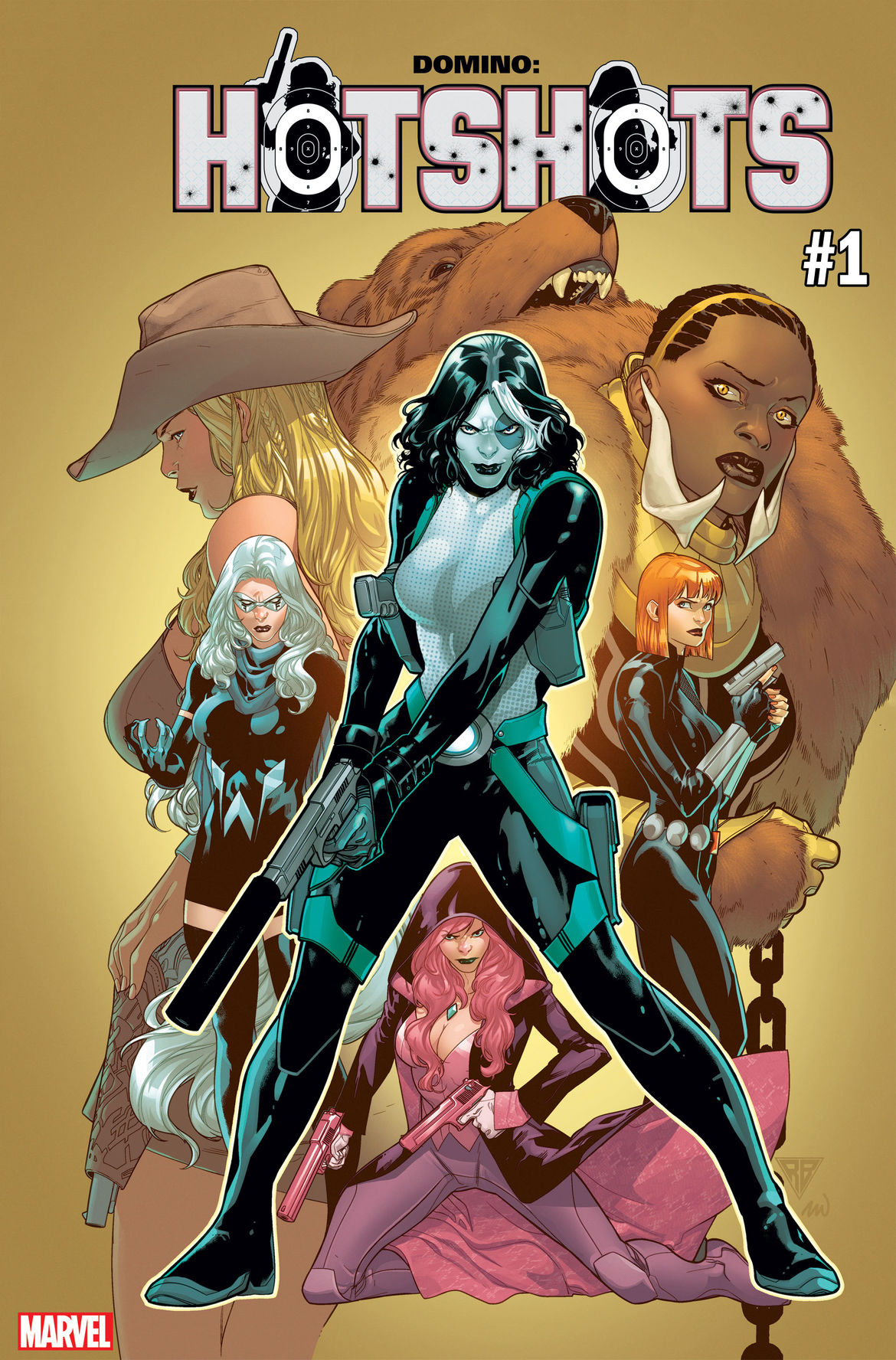 Domino Hotshots #1 Marvel