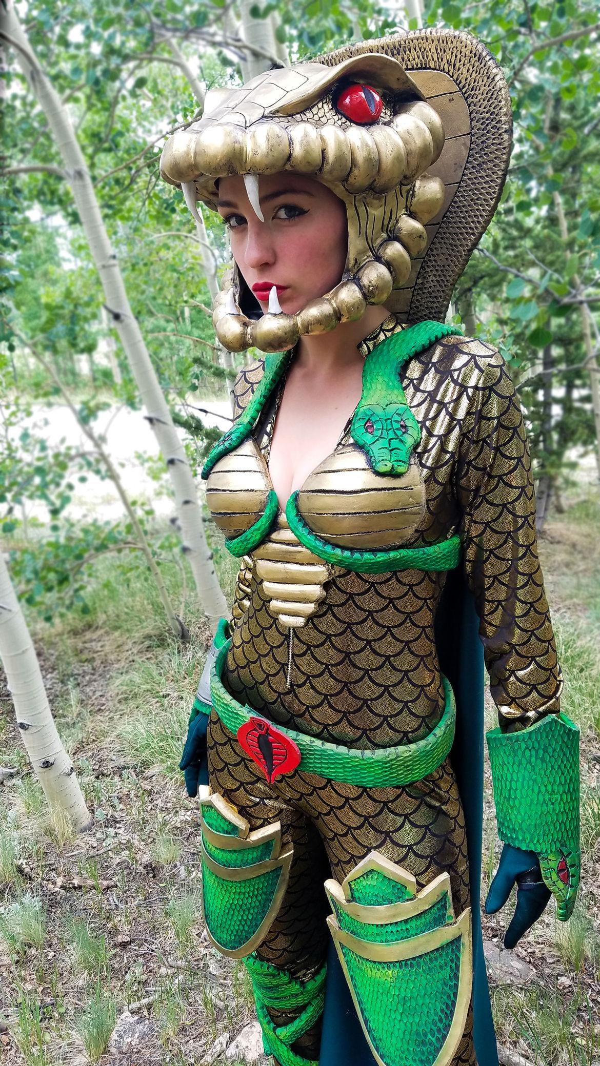 Serpentor cosplay