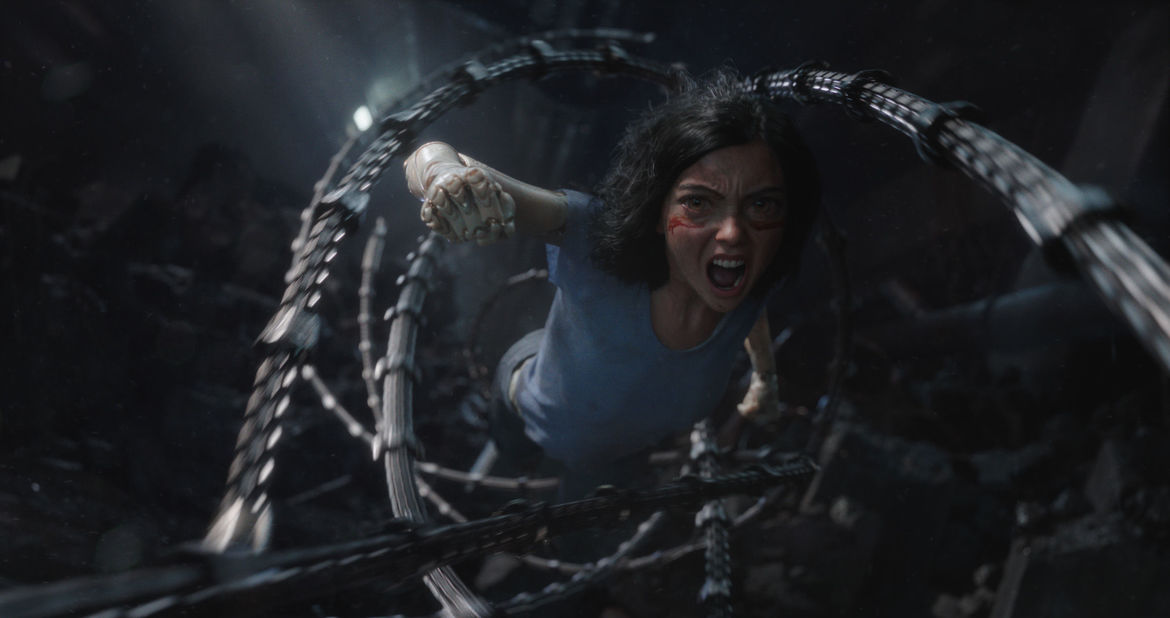 Alita Battle Angel Rosa Salazar