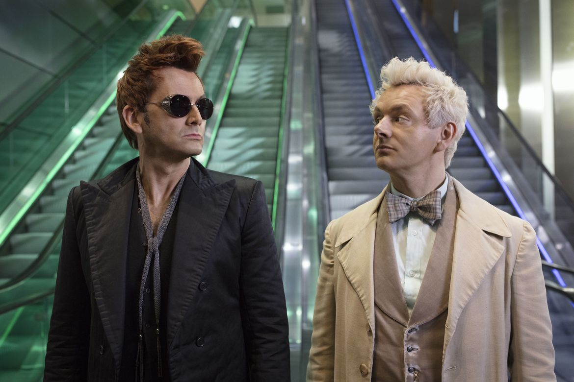 Neil Gaiman reveals why American Gods and Good Omens will be his