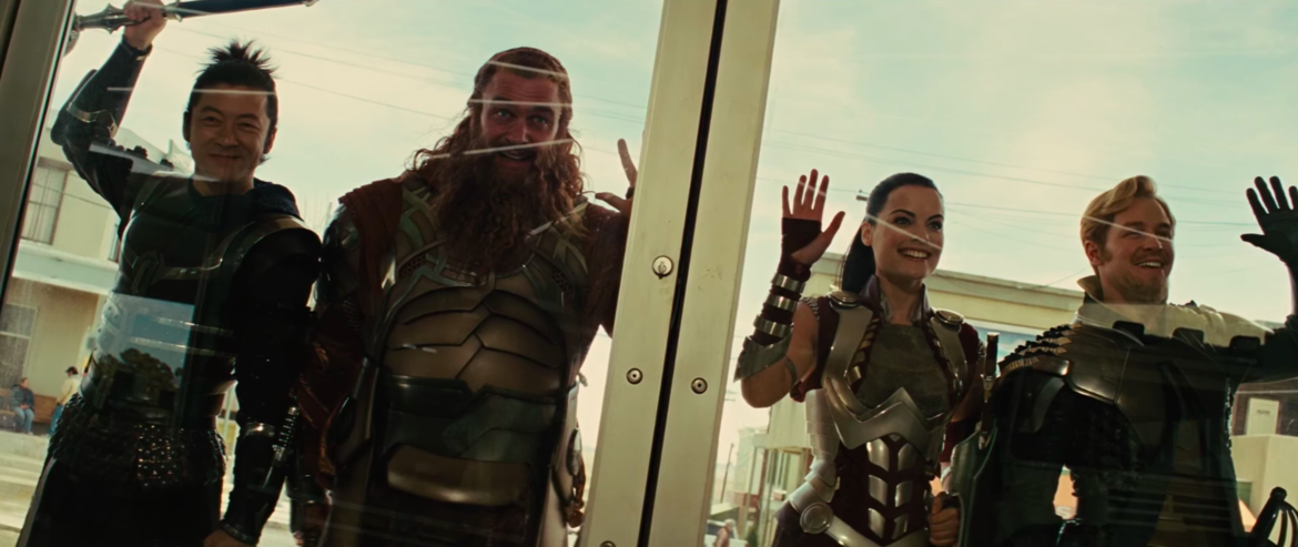 Thor Lady Sif and the Warriors Three
