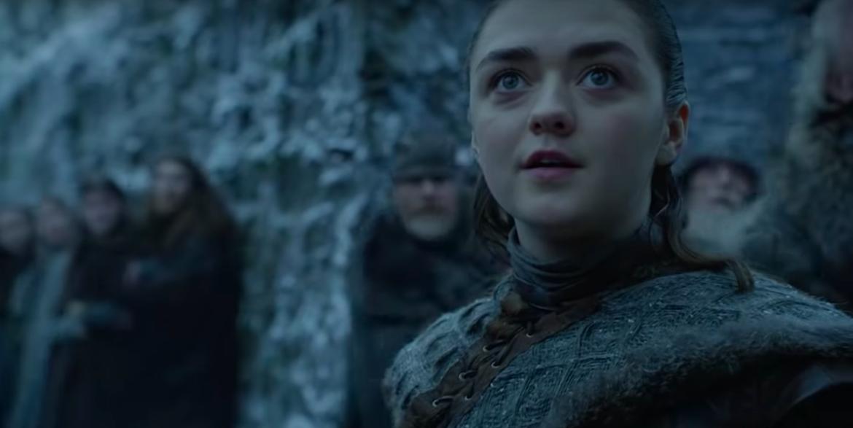 Arya Stark Maisie Williams Game of Thrones Season 8