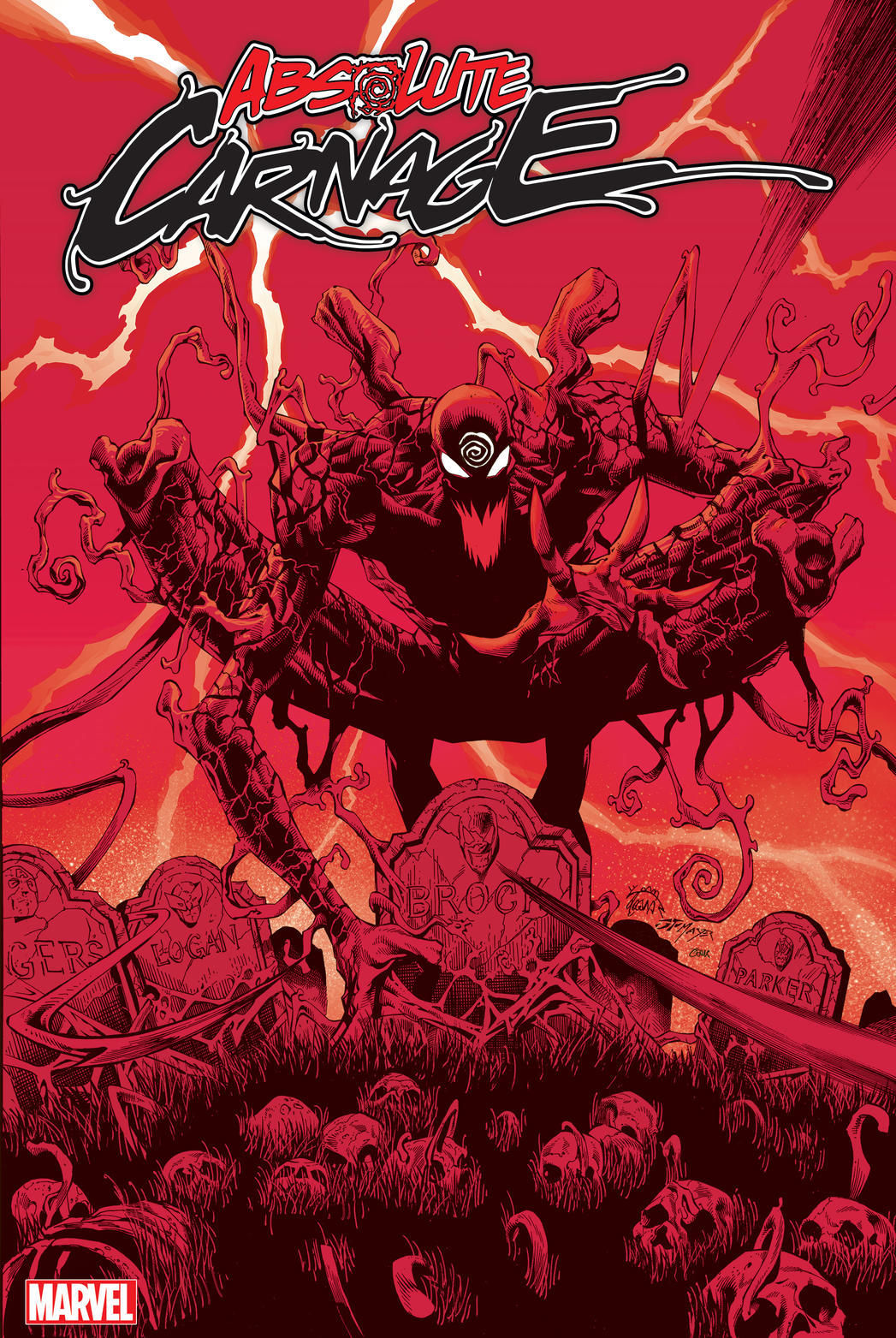 Absolute Carnage #1 front cover