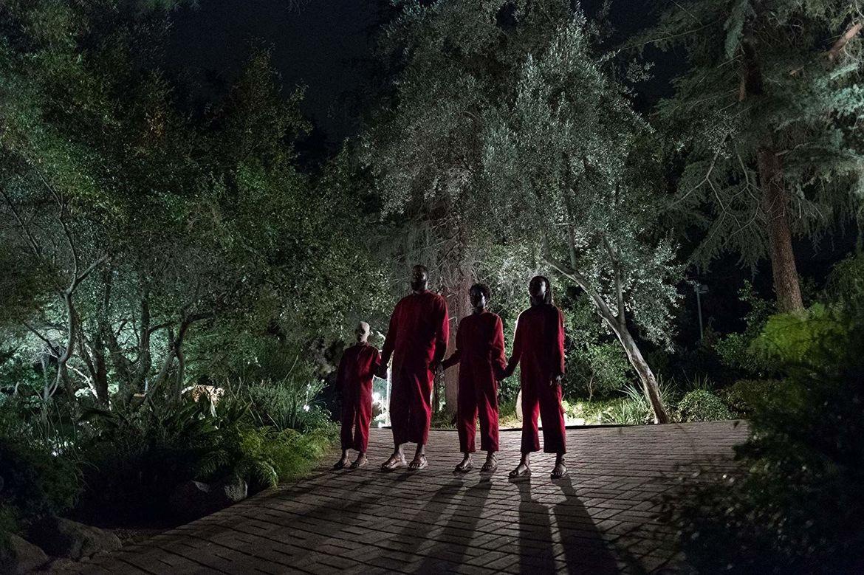 Lupita Nyong'o, Winston Duke, Evan Alex, and Shahadi Wright Joseph in Us