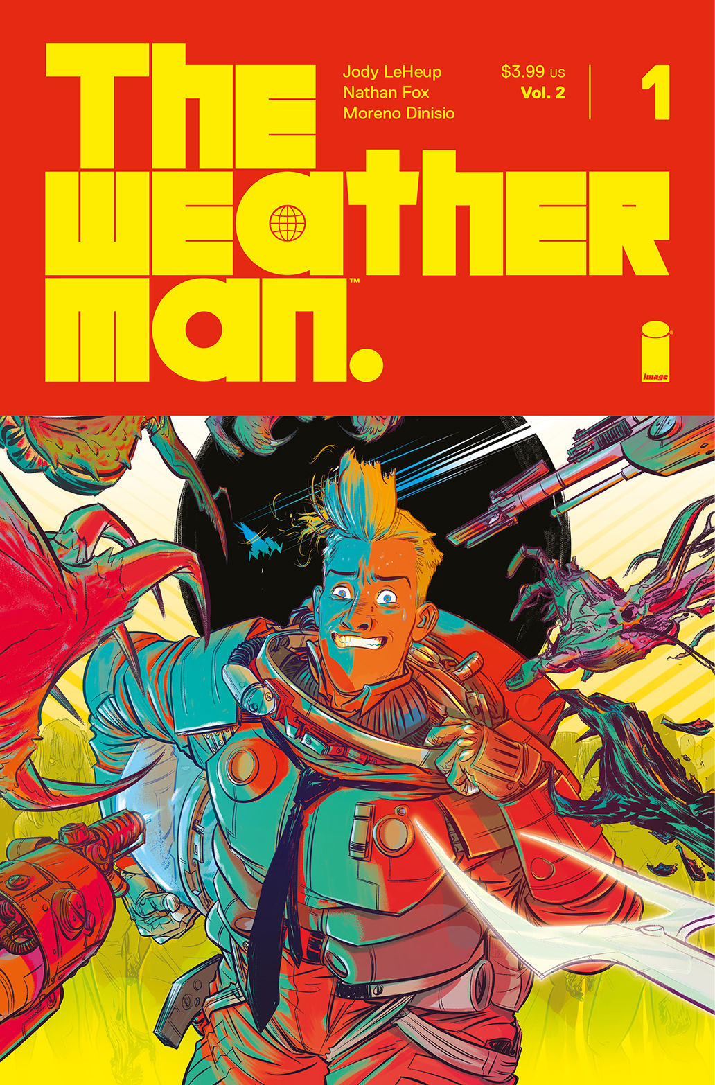 7 Muses Comics the weatherman writer talks redemption in exclusive first