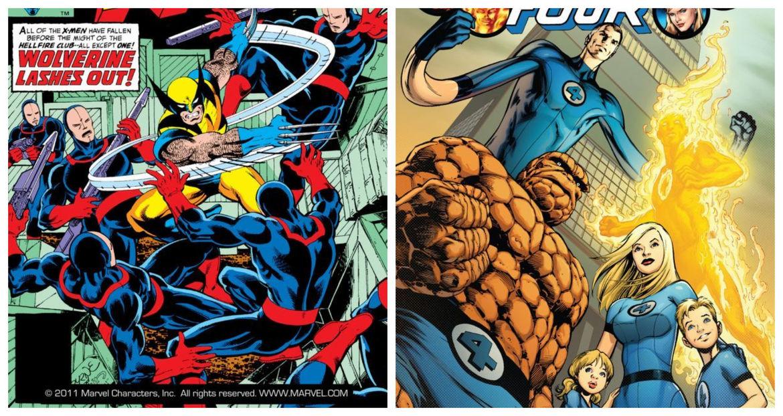 X-Men & Fantastic Four