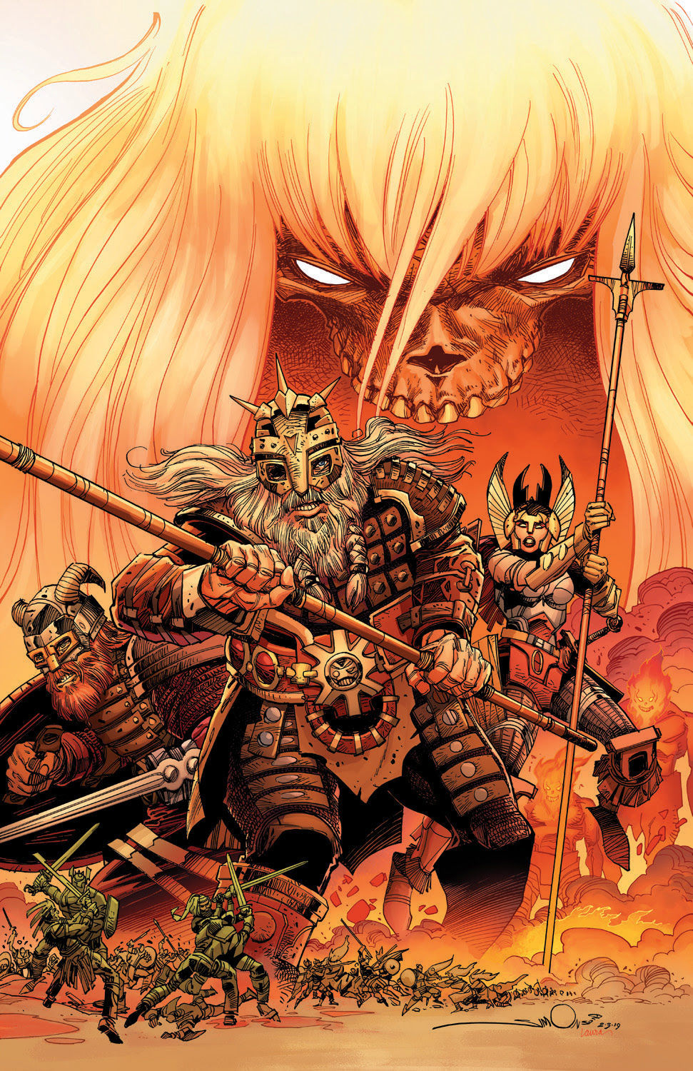 Walter Simonson The Breaking of Helheim