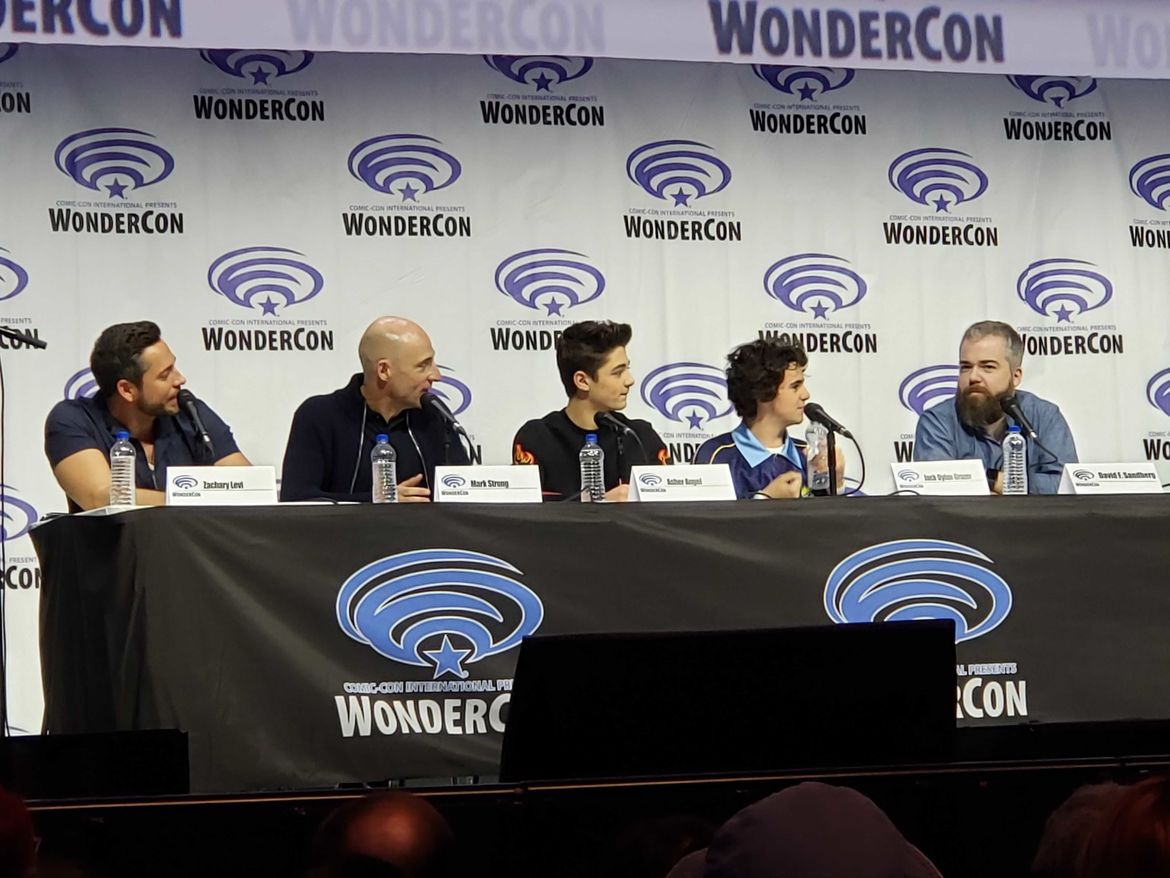 Shazam! cast and crew at WonderCon 2019