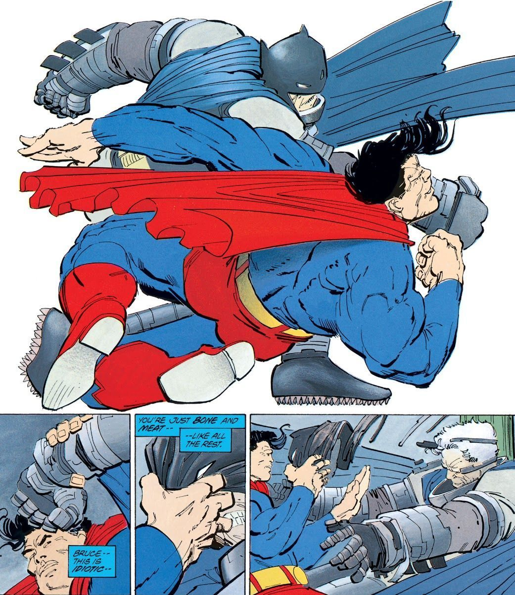 Dark Knight Returns #4 (Writer: Frank Miller, Artists: Frank Miller)