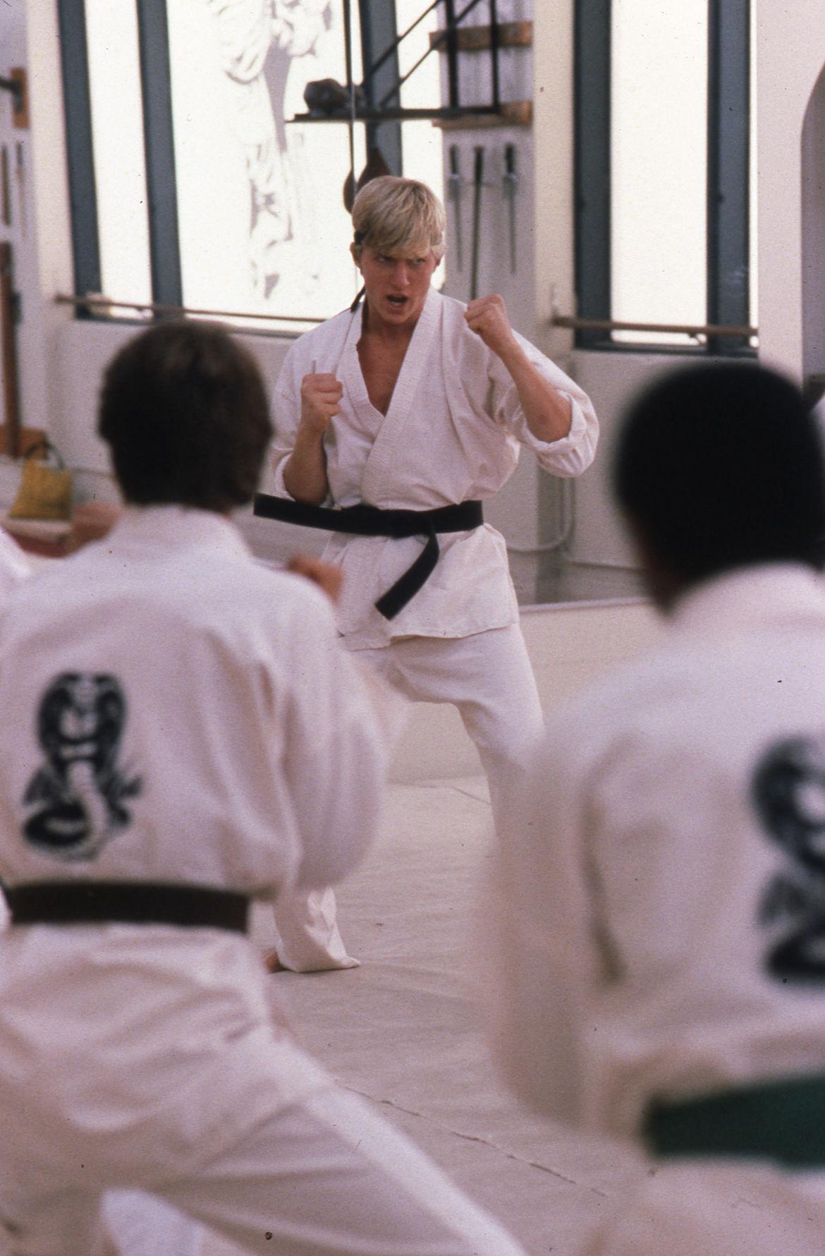 William Zabka in The Karate Kid
